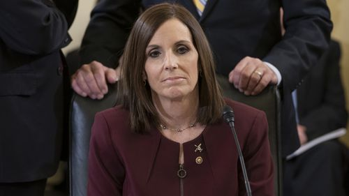 US Senator Martha McSally has revealed she was sexually assaulted by a superior officer during her time in the Air Force.