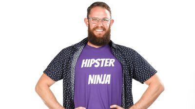 Edward Ashley Burrill competing on Australian Ninja Warrior 2020.