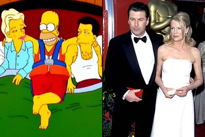 """<B>Appeared in:</B> 'When You Dish Upon a Star' (1998), in which Homer becomes pals with the stars when he drops in (literally) to their Springfield getaway. The episode is kinda awkward to watch, given Baldwin and Basinger's (""""It's <I>Bass</I>-ing-er!"""") messy divorce since it aired. (Ron also lent his voice to the 1999 episode 'Hello Gutter, Hello Fadder')<br/><br/><B>Best line:</B> """"You killed Ron Howard!"""""""