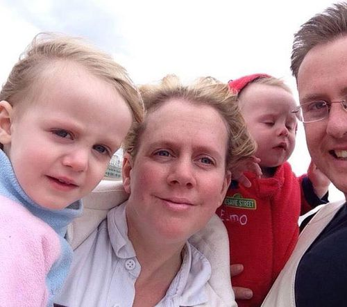 The Nelson family when Zac was younger (Supplied)