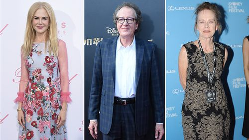 The three actors are all nominated for their roles in a Limited Series. (AAP)