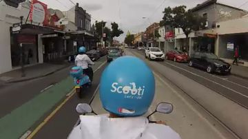Scooter taxi service coming to Melbourne