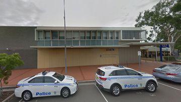Raymond Terrace Police Station, in the NSW Hunter region.