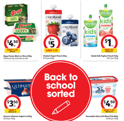 Once again Coles has a great variety of half-price specials.
