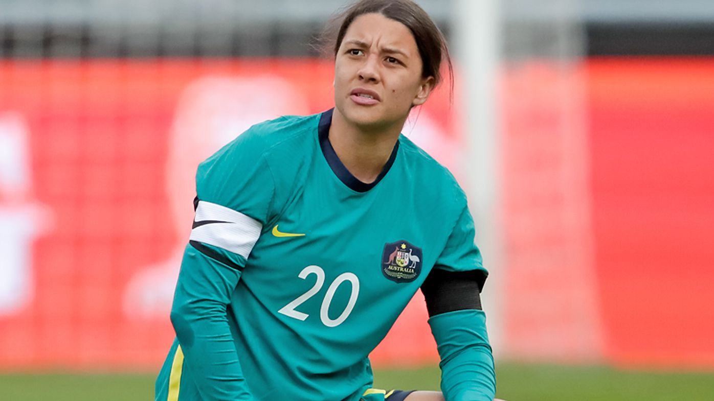 Sam Kerr injury scare as Matildas 'start to come together' under new coach