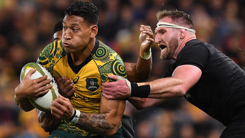Israel Folau to miss Wallabies' end-of-year Spring Tour to take break from rugby