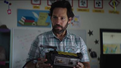 Paul Rudd in Ghostbusters: Afterlife.