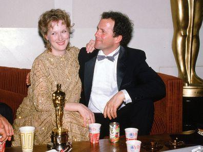 Meryl Streep and Don Gummer in 1983