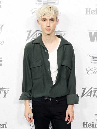 Troye Sivan attends Variety and Women In Film's 2018 Pre-Emmy Celebration.