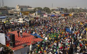 Pictures of the week: Largest protest in history as farmers push back
