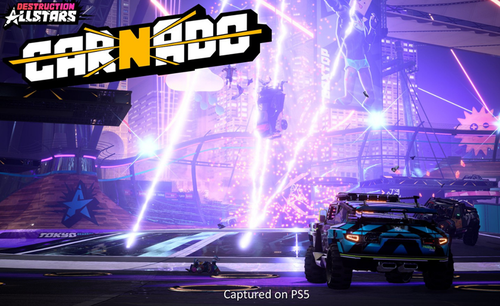 Carnado is a game mode that features two teams who need to cause as much chaos as they can before crashing their car into a tornado