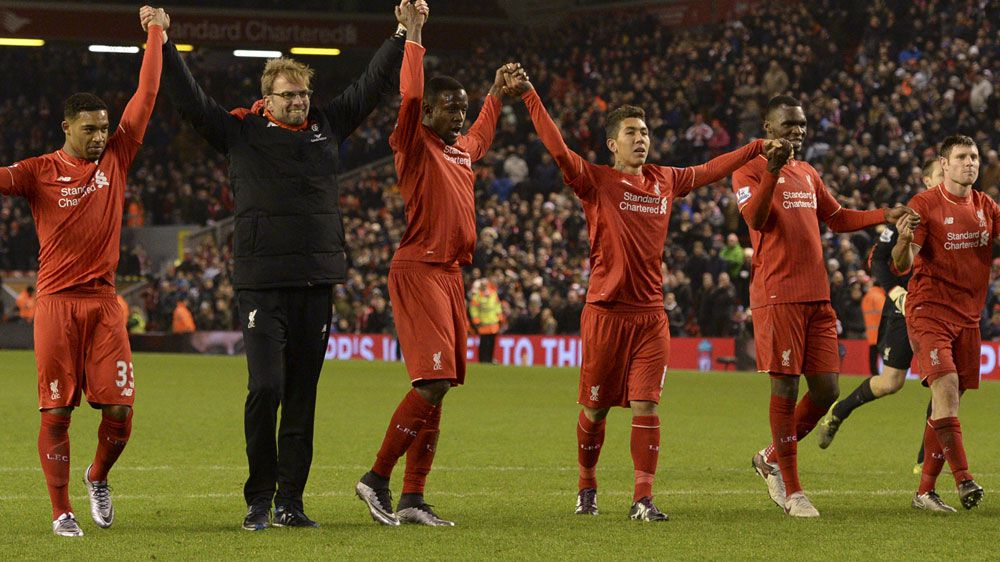 Liverpool rescued by late Origi strike