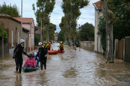 350 firefighters were involved in rescue operations overnight and that number is expected to double to deal with the aftermath of flash floods in France's Aude region.
