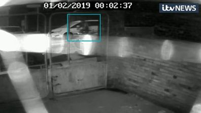 CCTV of missing woman Libby Squire.