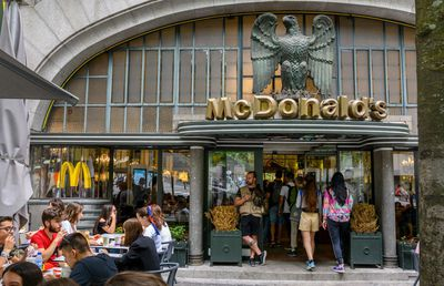McDonald's Imperial in Porto, Portugal