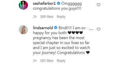 Sasha and Lindsay react to Bindi and Chandler baby news