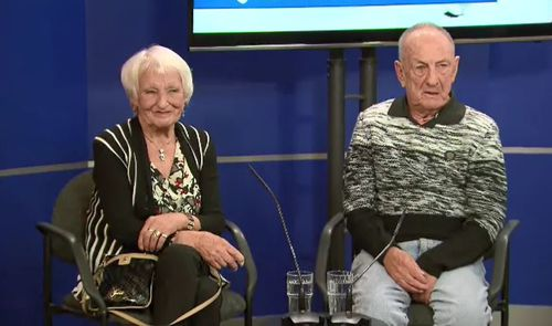 The 78-year-old victim, Otwina, and her husband, Brian, were left horrified in the Sunshine attack.