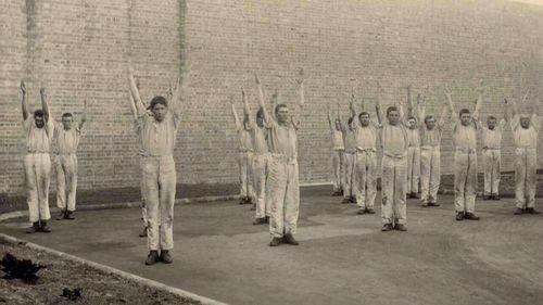 Inmates at Long Bay.