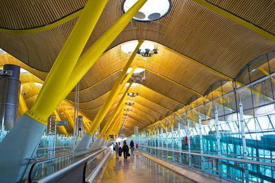 <strong>#8 Adolfo Suarez Madrid-Barid-Barajas Airport [MAD, MADRID, SPAIN]</strong>