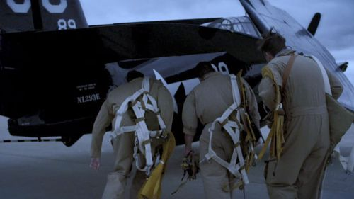 A simulation of pilots boarding Flight 19.