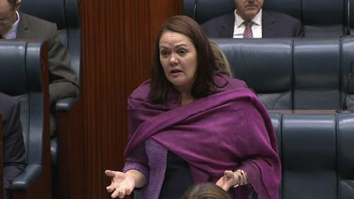 Opposition Leader Liza Harvey voted against the bill.