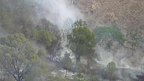 Residents of Villeneuve warned to prepare to leave as bushfire approaches