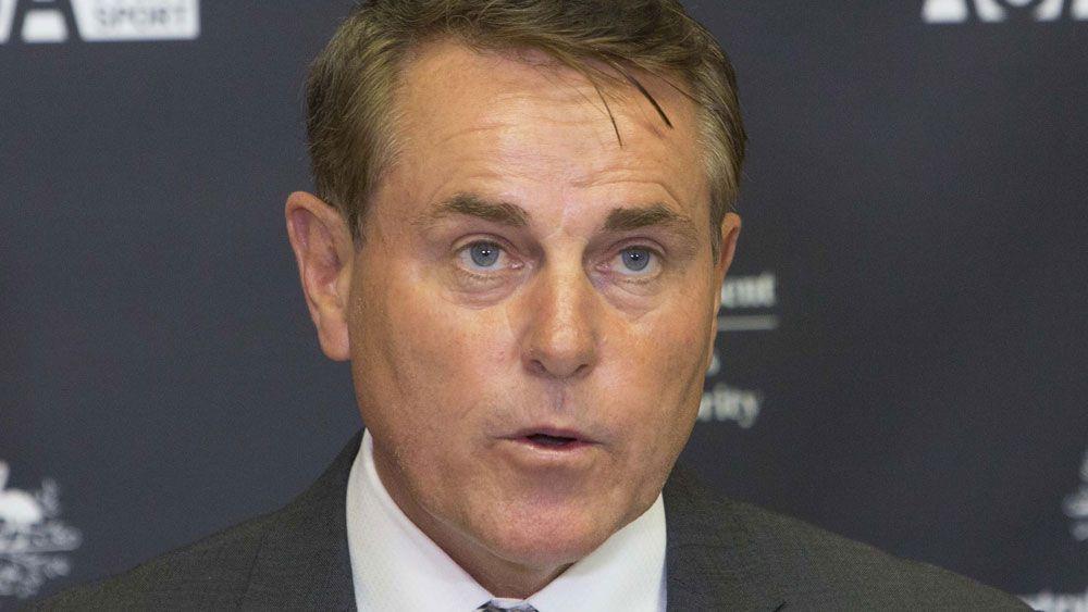 ASADA boss Ben McDevitt. (AAP)