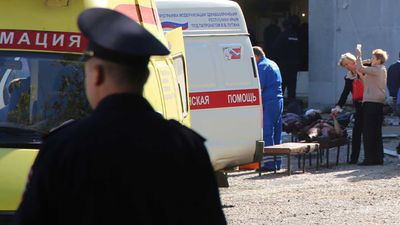 Crimea school attack: 'The kids' muscles have been minced'