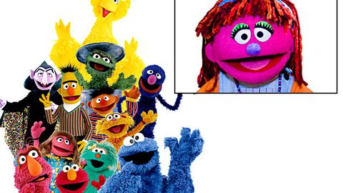Sesame Street is introducing a poor Muppet