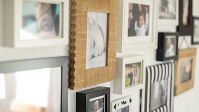 This is  the 'right' height to hang a picture frame