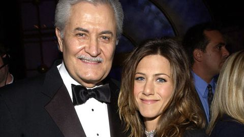 Jennifer Aniston and her father John Aniston