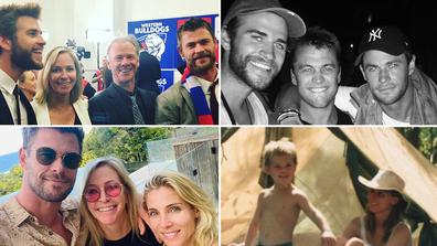 The Hemsworth family
