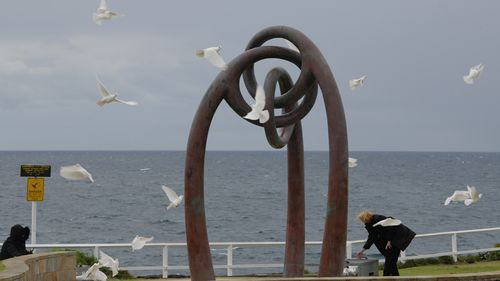 To mark the Australians that lost their lives in the attacks, 88 white doves were released during the service.