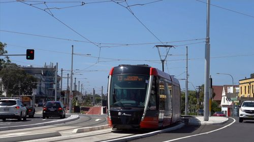 The new L3 Kingsford Line completes the 12-kilometre CBD and South East Light Rail.