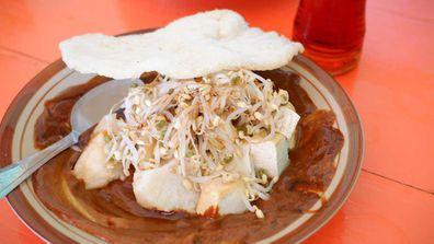 Warung satay, Bali street food