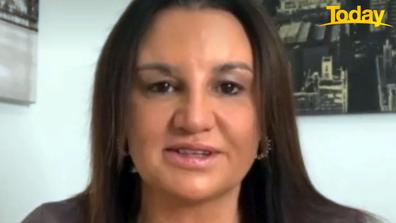 Jacqui Lambie said she deserves the ban Qantas slapped her with.