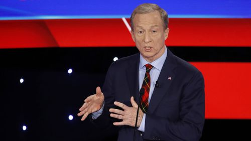 Tom Steyer is largely self-funding his presidential campaign.