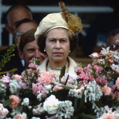 Queen Elizabeth, 1981.