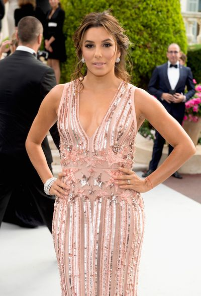 Eva Longoria at the amfAR Gala, Cannes 2017