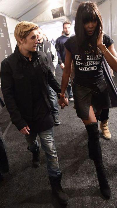 Justin Bieber, Naomi Campbell
