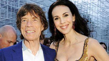 Rolling Stone frontman Mick Jagger with girlfriend fashion designer L'Wren Scott in London last June (Getty).