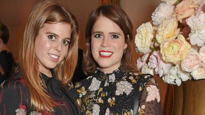 Princess Beatrice and Princess Eugenie of York