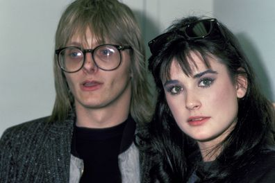 Freddy Moore and Demi Moore.