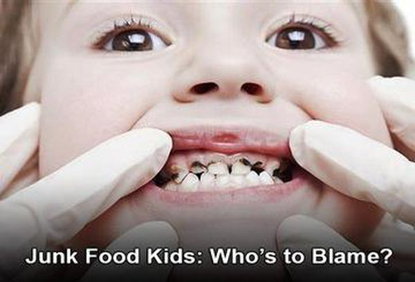 Junk Food Kids: Who's to Blame?