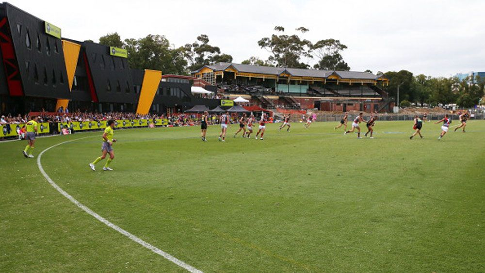 Richmond's training base, Punt Road Oval. (Getty)