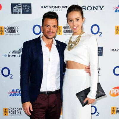 <strong>Peter Andre, 45, and Emily MacDonagh, 29</strong>