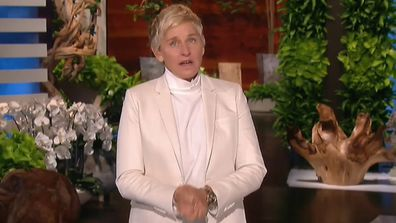 Ellen makes her return to The Ellen DeGeneres Show