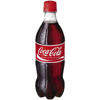 <strong>600ml Coca-Cola (63.6 grams of sugar)</strong>