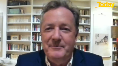 Piers Morgan said it would be 'churlish' to be negative about Meghan and Harry's arrival.