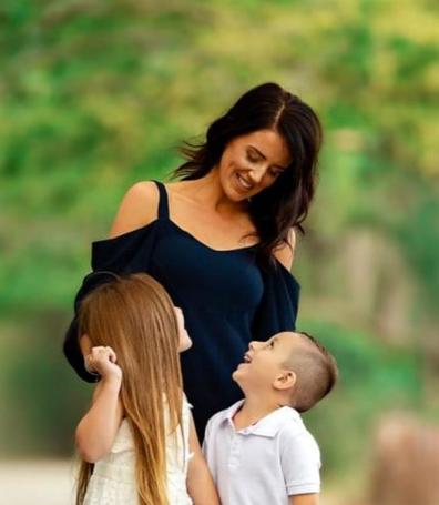 Natalie NBCF with children